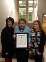 Avon Hist Soc award